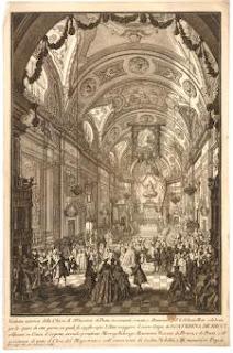 Zocchi - Stampa - British Museum - Basilica Santa Caterina de Ricci