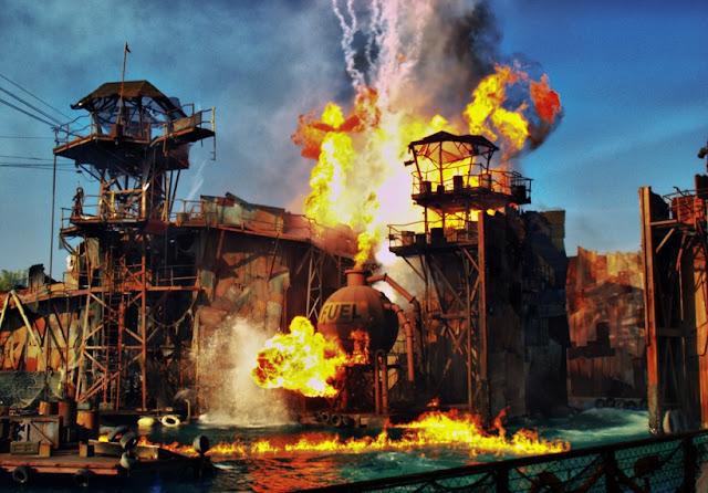 Parque Universal Studios em Los Angeles na Califórnia