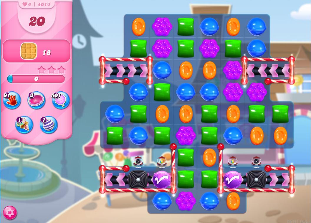 Candy Crush Saga level 4014