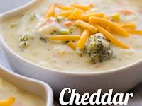Cheddar Broccoli Soup Recipe and 37 more cheesy recipes