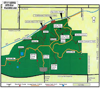 South Hills Wilderness Park trail map, Glendora