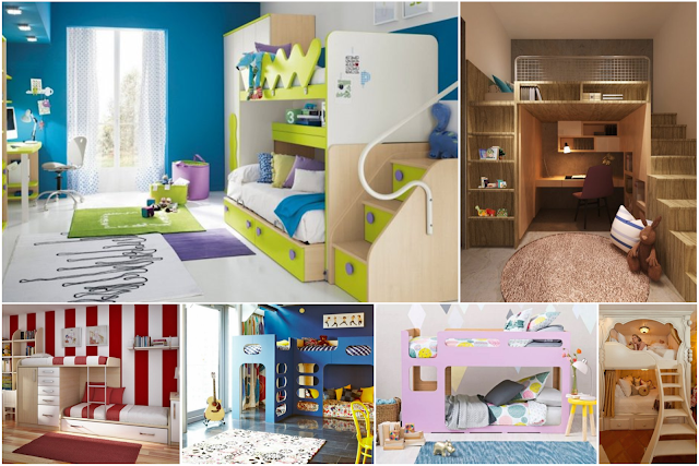 18 Double Bed For Children's Room Decors