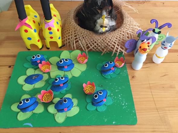 Hội thi làm đồ dùng đồ chơi sáng tạo chủ điểm quê hương đất nước, Bác Hồ