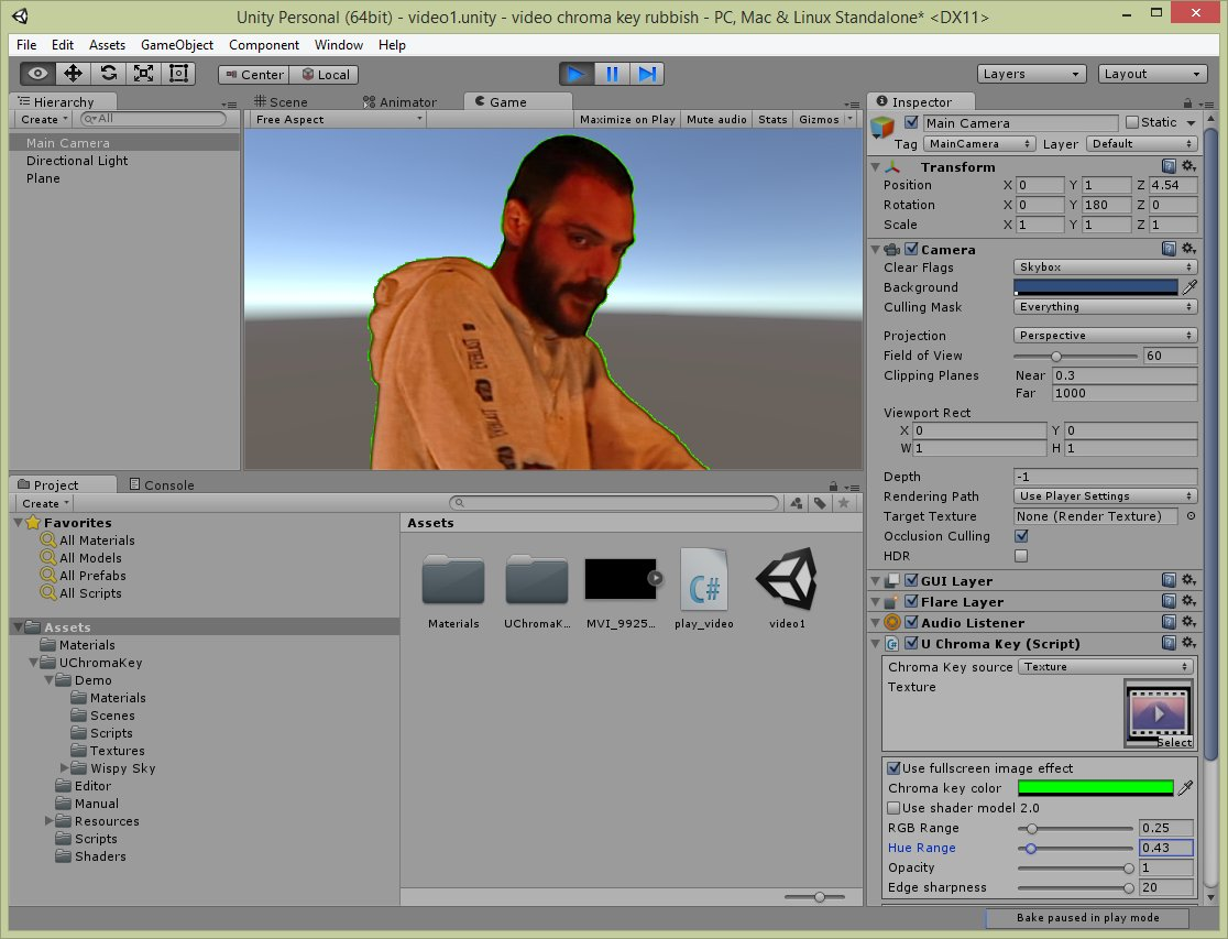 Nerd Club: Playing video with alpha transparency in Unity 5 using a