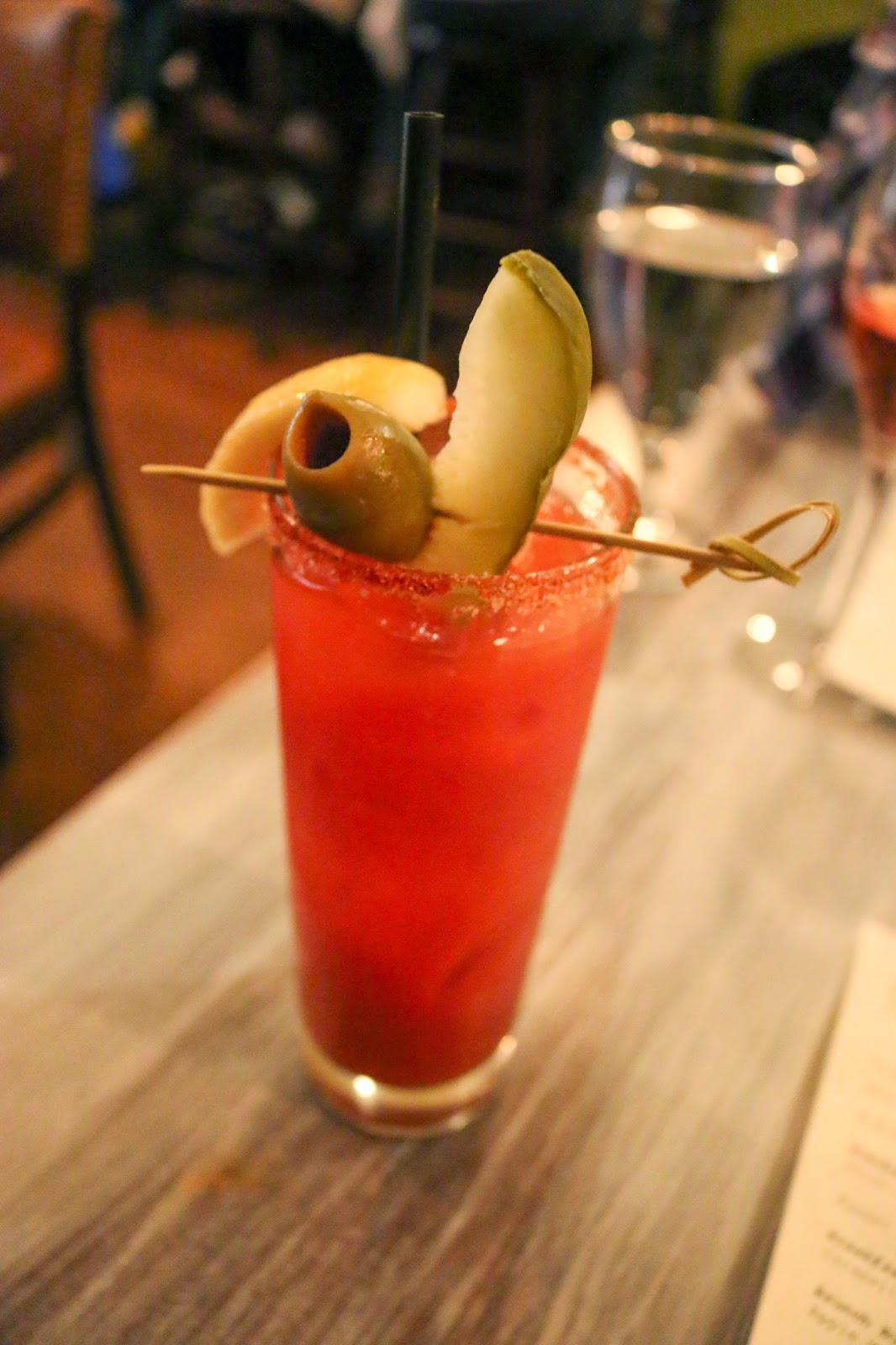 Philly Food Blog: Belly of the Pig - Crow and the Pitcher Bloody Mary
