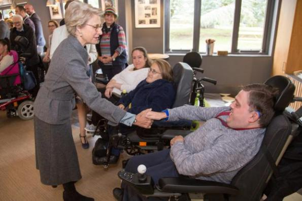 The Duke and Duchess of Gloucester spent the day in Hampshire and Surrey