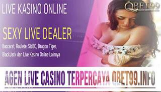 Agen Judi Live Casino Online Terpercaya Di Indonesia QBet99.info - www.Sakong2018.info