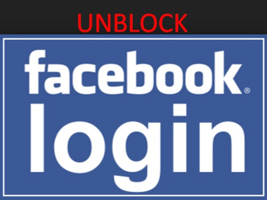 Unblock Facebook Login Page