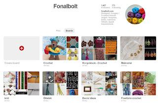 Keresd a fonalbolt.com-ot a Pinteresten is!