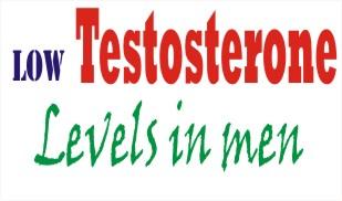 low testosterone levels in men