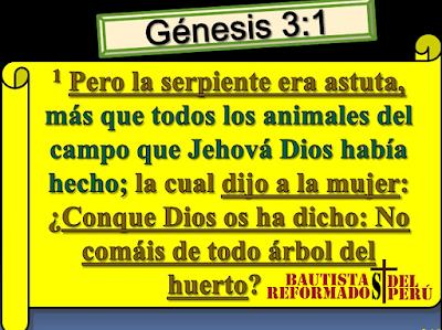 Un antídoto contra las artimañas de satanás (Gn 3:1)