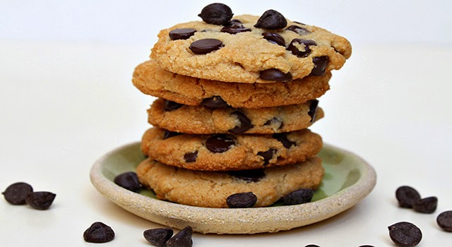 Cookies de pepitas de chocolate paso 0