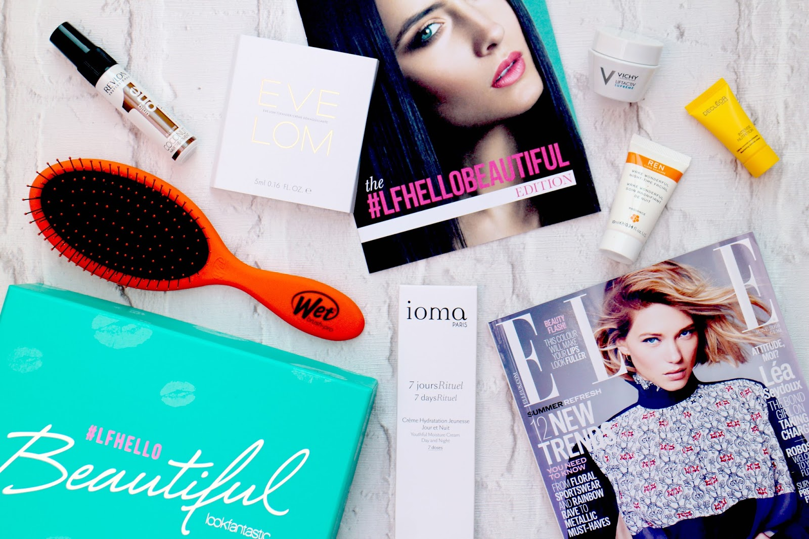 Look Fantastic #LFHelloBeautiful Beauty Box