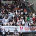 Miles llegan al Zócalo en marcha por 50 años del 2 de octubre