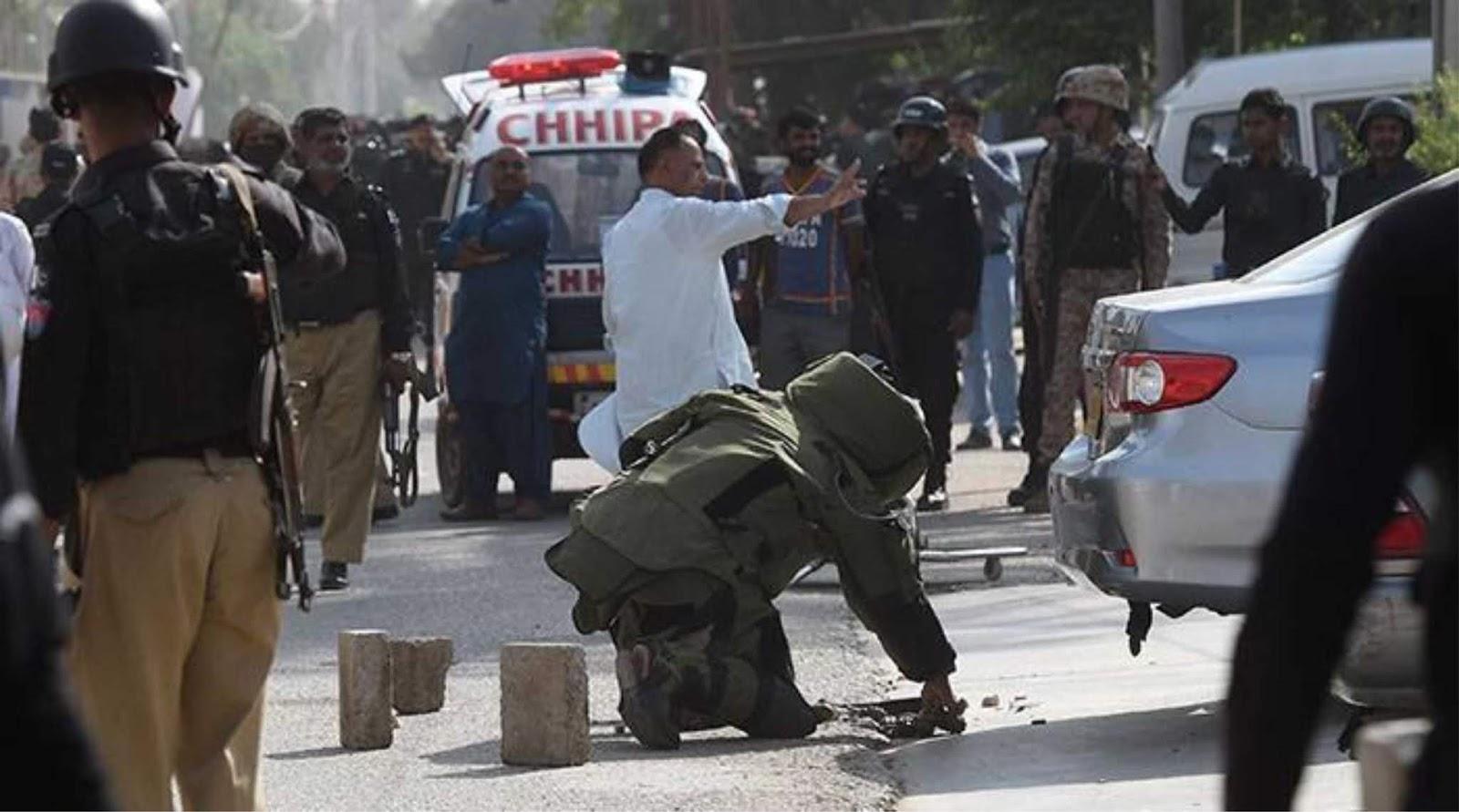 Dua warga sipil tewas dalam serangan terhadap Kantor Dubes China di Pakistan