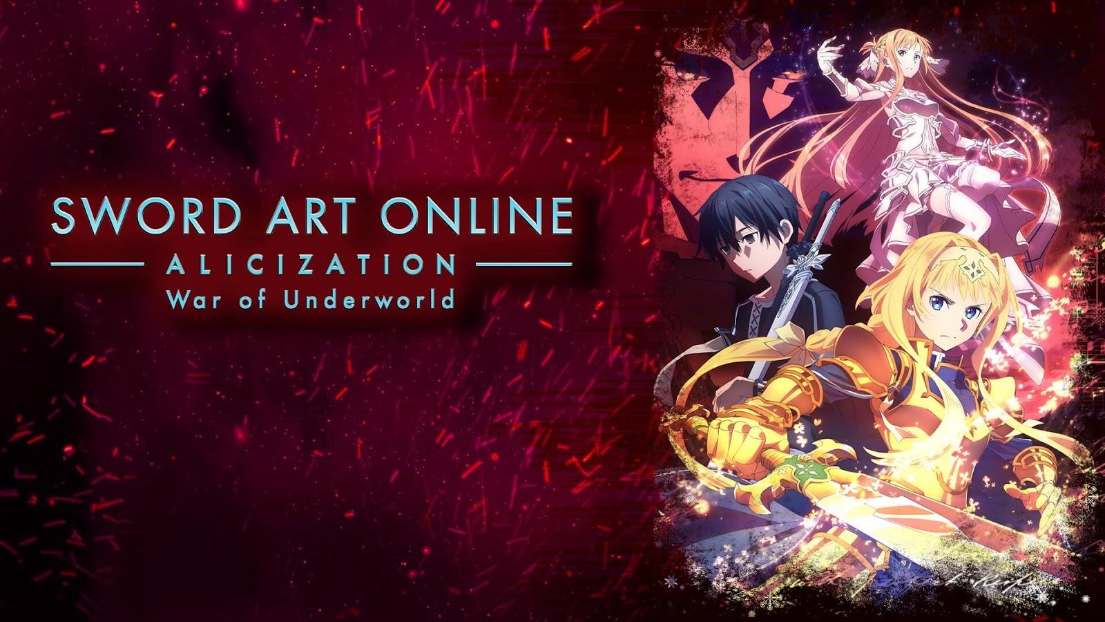 انمى Sword Art Online: Alicization الموسم الثانى مترجم أونلاين كامل تحميل و مشاهدة