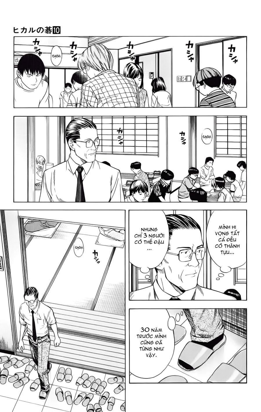 Hikaru No Go hikaru no go chap 82 trang 8