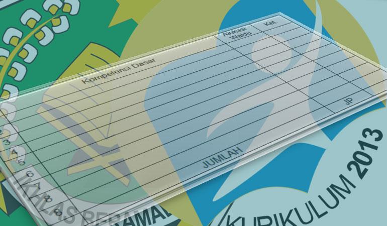 Contoh Format Prota Promes SD MI Kurikulum 2013 Revisi Final 2017