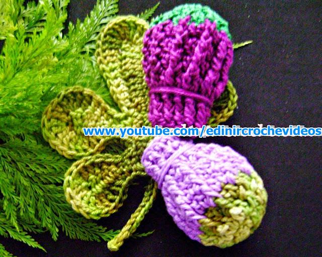 figos frutas legumes folhas aprender croche blog croche com receita