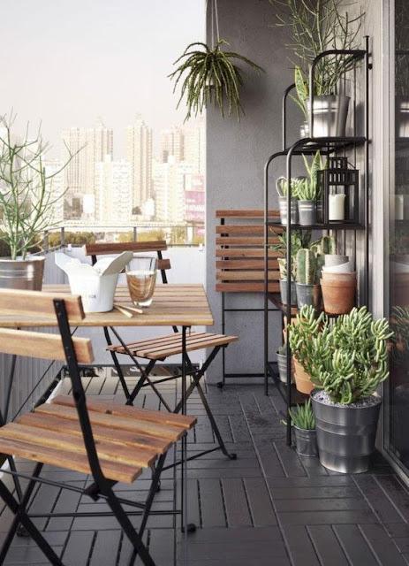 Cómo decorar balcones pequeños-13