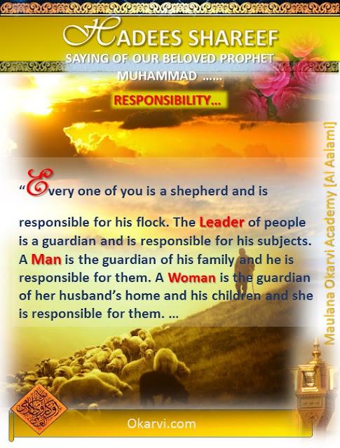 Hadees Shareef Responsibilty