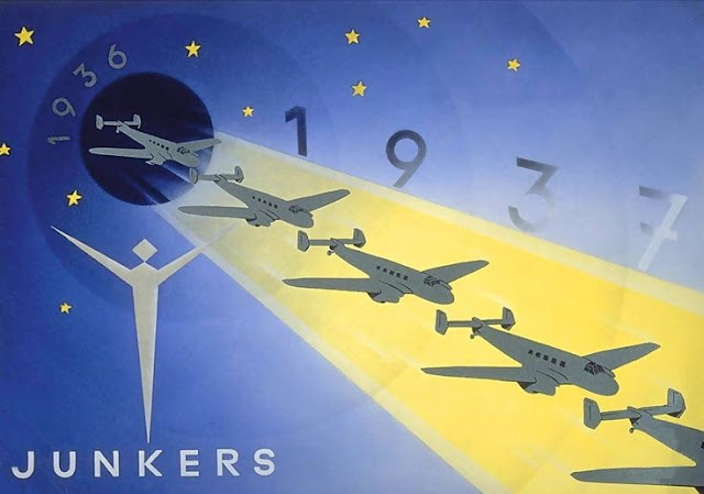 Junkers Fascist airplane ads worldwartwo.filminspector.com