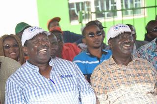 NASA harvest huge in Meru following the Raila Odinga speech. PHOTO| Courtesy