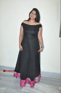 Telugu Actress Swathi Reddy Latest Stills in Black Gown  0090.JPG