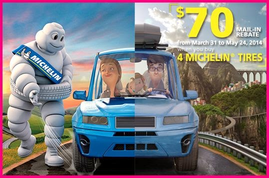 Michelin Tire Rebate and Coupons August 2019