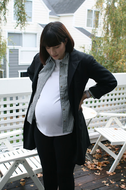 Autumn Layering, Pregnancy style, Madewell, Topshop, Casual, Maternity, Fashion Blogger