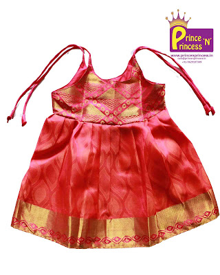 new born just born naming cradle ceremony silk frock pattu langa pavadai