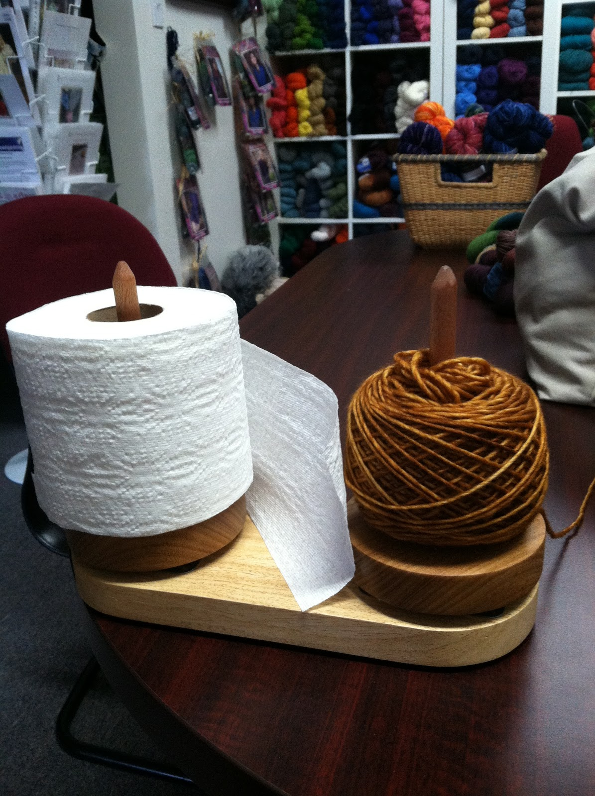 Yarn Club Knits And Blogs Toilet Paper And Twisted Yarn