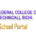 FCET, Bichi 2016-17 NCE & Pre-NCE Admission List Out