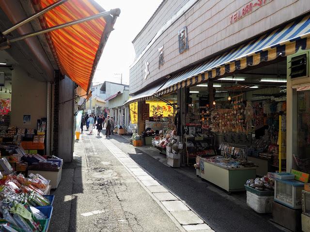 城ケ島灯台商店街