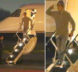 Justin Bieber Takes a personal Jet Back From NYC once Dinner Date With Hailey Baldwin