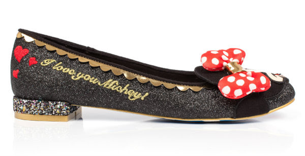 irregular choice i love you mickey shoes