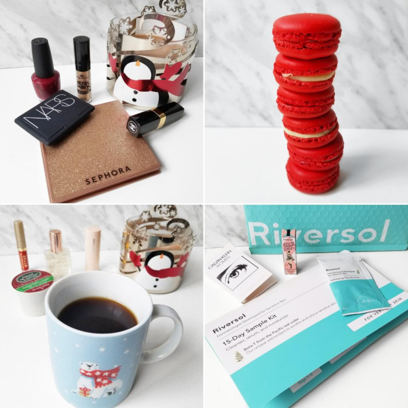 bblogger, bbloggers, bbloggerca, canadian beauty blogger, beauty blog, lifestyle blogger, southern blogger, instagram, round up, instamonth, nars, chanel, sephora collection, french toast coffee, red macarons, riversol, sample kit, skincare
