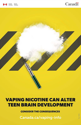 Vaping nicotine can alter teen brain development #vapinginfo