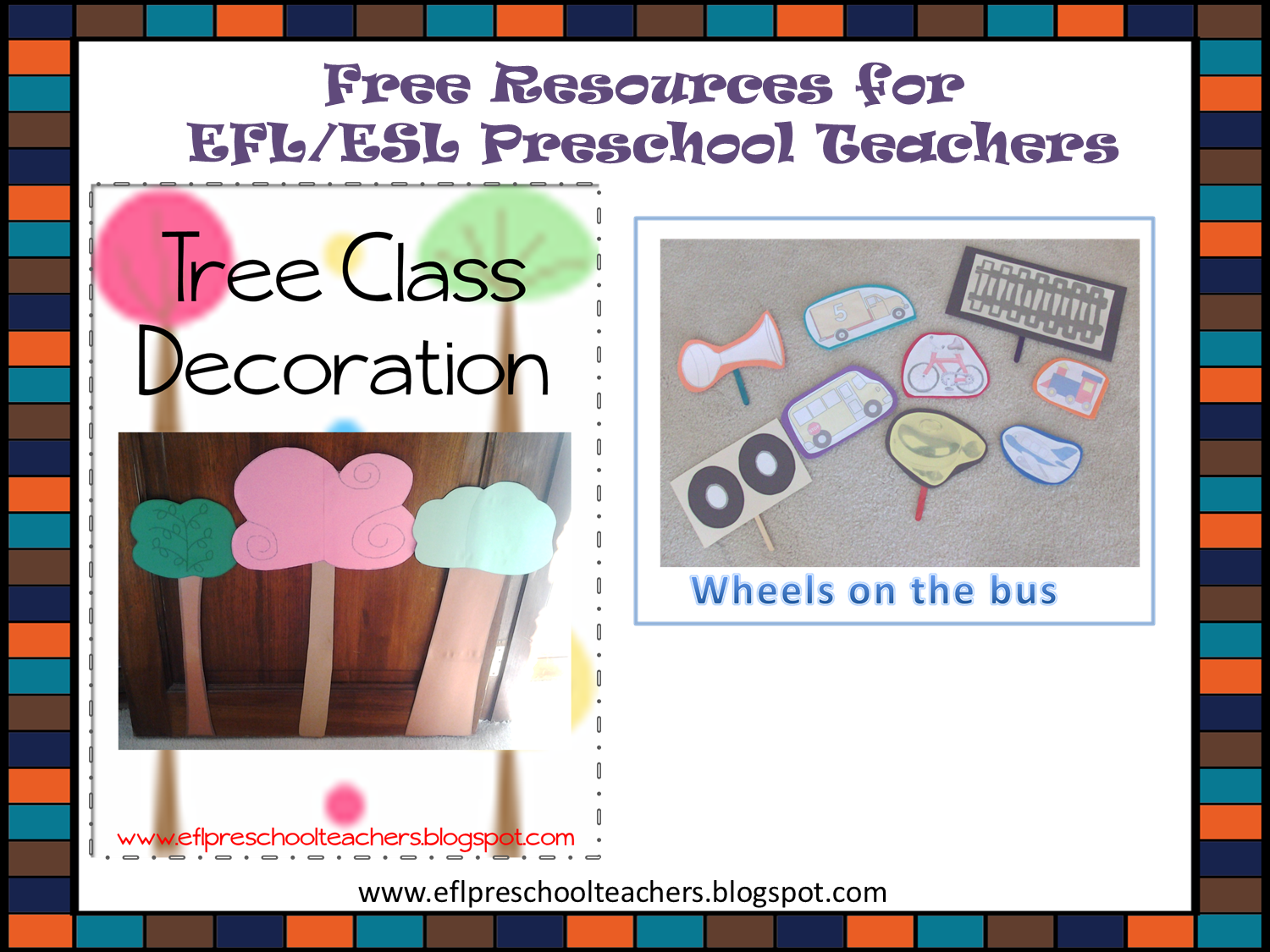 Esl Efl Preschool Teachers Free Resources For Efl Esl