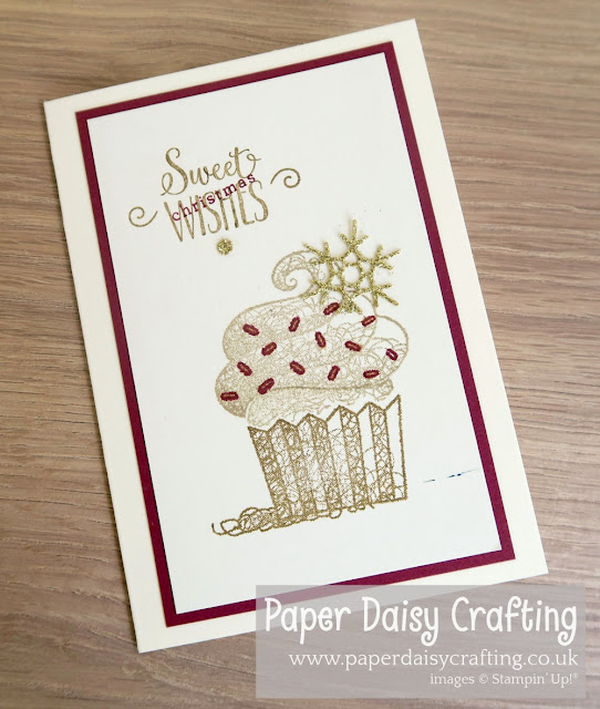 Hello Cupcake Sale-a-bration Stampin' Up!