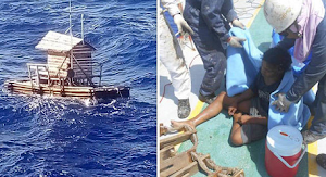 Indonesian Teenager Survived After 49 Days At Sea