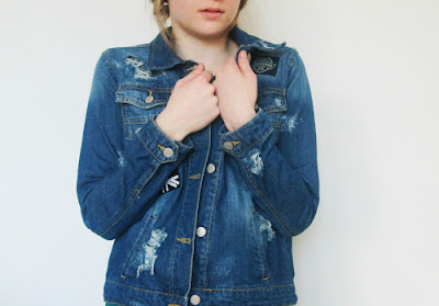 Elli de'Rooth: DIY | Distressed Denim Jacket