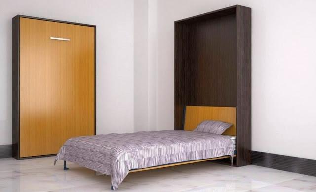 giường gấp đa năng dọc