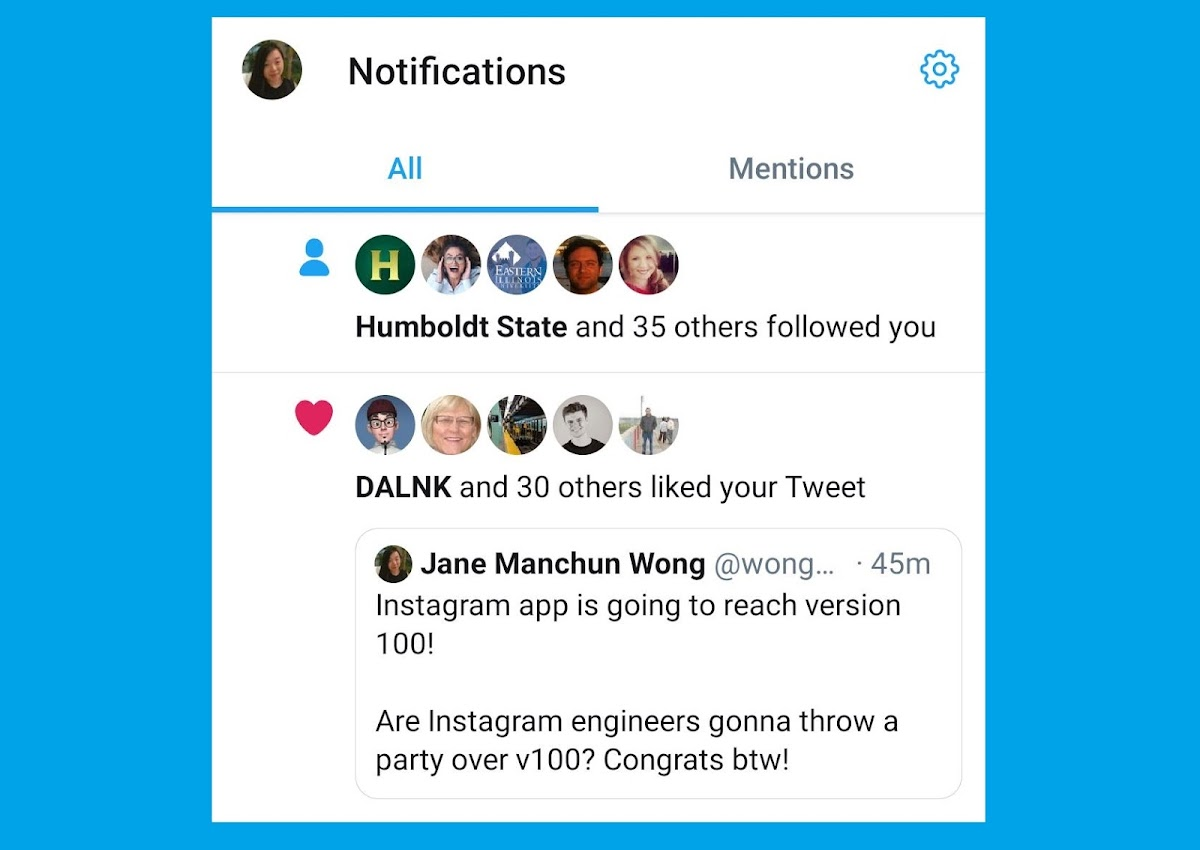 Twitter is testing quoted-tweet style notification on mobile so it looks less confusing