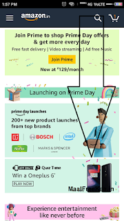 Amazon Prime Day Answer OnePlus 6 Free