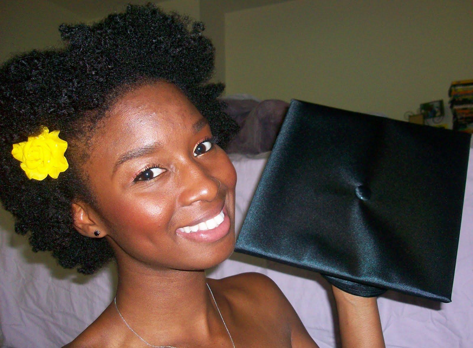 Astonishing Natural Hair And Graduation Caps Natural Hair Care Curly Nikki Short Hairstyles For Black Women Fulllsitofus