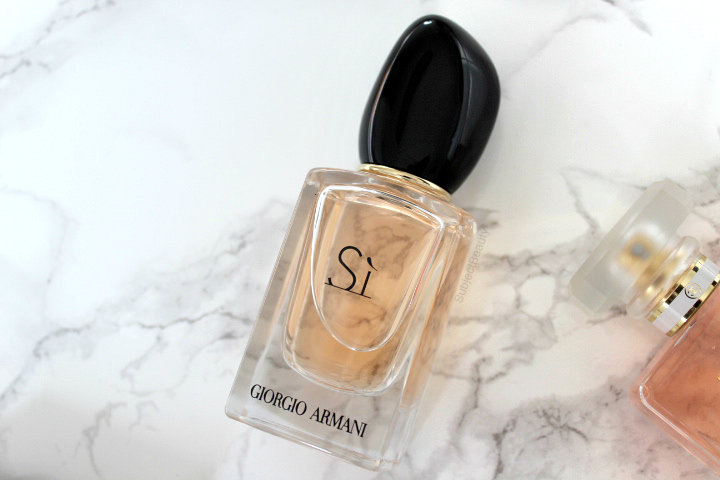 Four Favourite Fragrances Si Giorgio Armani