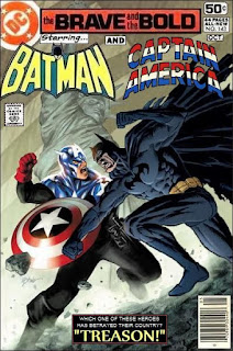 Captain America and Batman