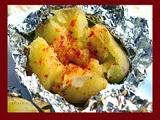 Patatas Asadas en Microondas