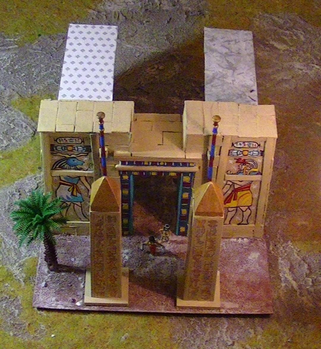 [WIP] Fabrication d'un second bâtiment égyptien du nouvel empire PIC_4742
